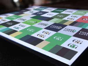 Good & Green Colour Brand Theory sheet