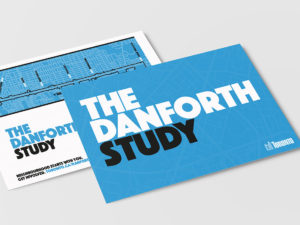 Dillon Consulting - The Danforth Study project postcard