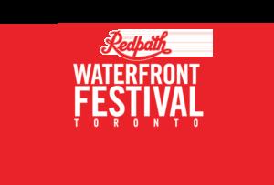 Redpath waterfront festival toronto logo