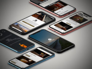 signal hill whisky website on mobile device